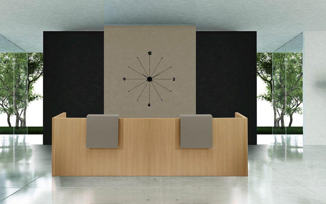 Oficinas Mostradores Recepción