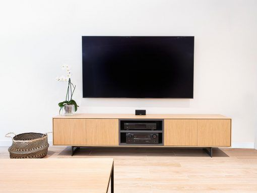 mueble tv tokio roble